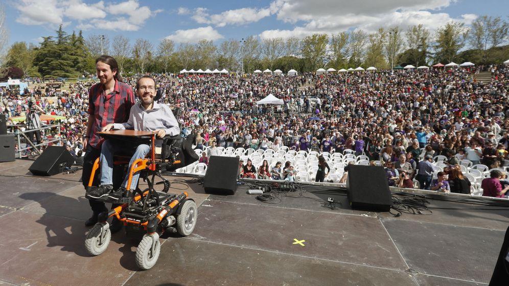 Foto: Fiesta de la primavera en Podemos