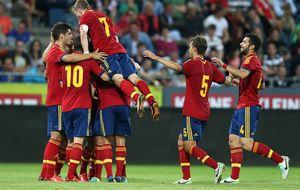España, firme en su camino al Europeo de la mano de Muniain
