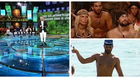 El enfado de Jorge Javier Vázquez con Suso en plena gala de 'Supervivientes'