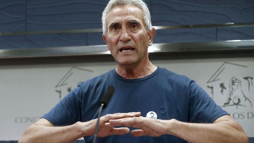 Foto: Diego Cañamero apuesta por elecciones antes que un nuevo Gobierno del PP. (EFE)