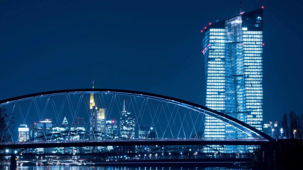 Foto: Sede del Banco Central Europeo en Fráncfort. (EFE)