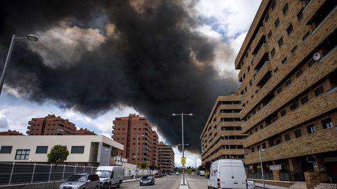 Desciende el nivel del plan de emergencia por el incendio de Seseña