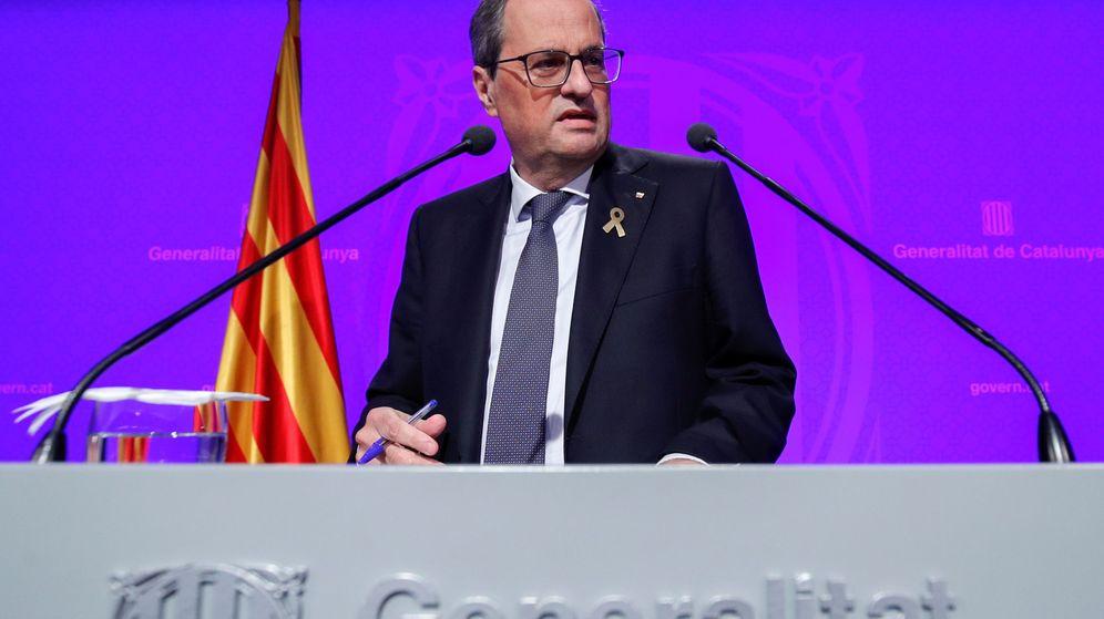 Foto: El presidente de la Generalitat, Quim Torra. (Reuters)