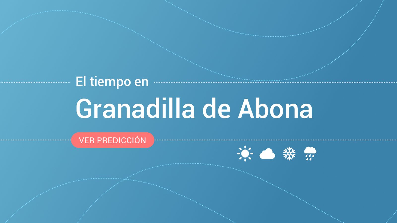 Foto: El tiempo en Granadilla de Abona. (EC)