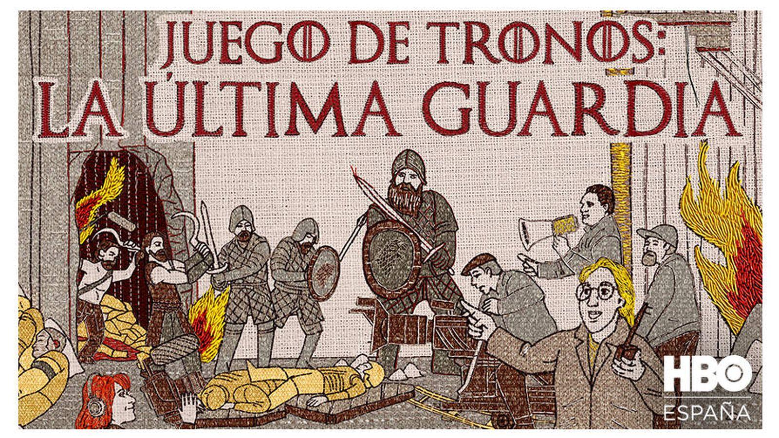 Foto: Imagen promocional de 'La última guardia', el documental sobre 'Juego de Tronos'. (HBO)