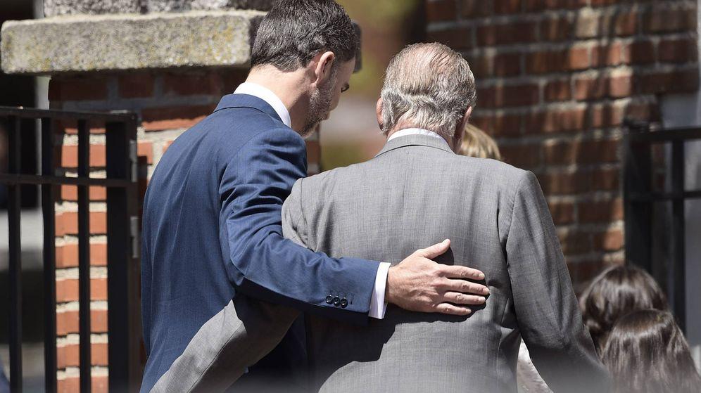 Foto: El rey Felipe VI junto al rey Juan Carlos I. (Gtres)