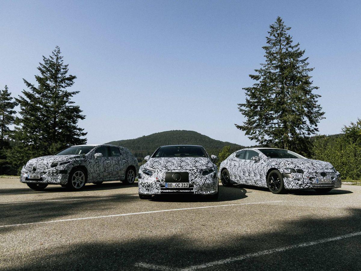 Foto: Mercedes está desarrollando seis modelos diferentes de su gama eléctrica del EQA al EQS.
