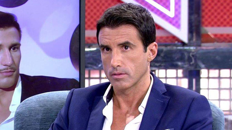 Hugo Sierra, en 'Sábado Deluxe'. (Telecinco)