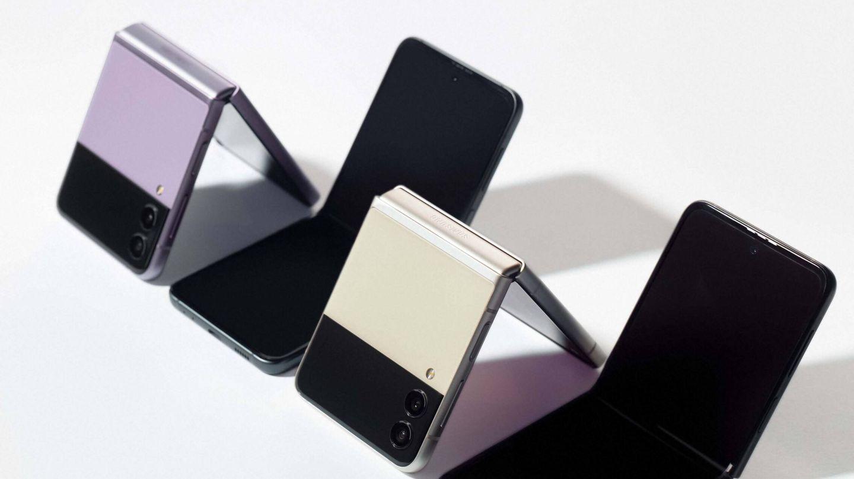 El Galaxy Z Flip 3. (Samsung)