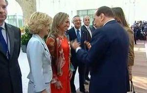 Berlusconi se disculpa