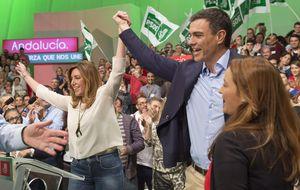 La andadura política de Susana Díaz en 30 imágenes