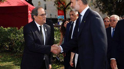 El MWC vuelve a reunir al Rey con Quim Torra, a pesar del presidente catalán