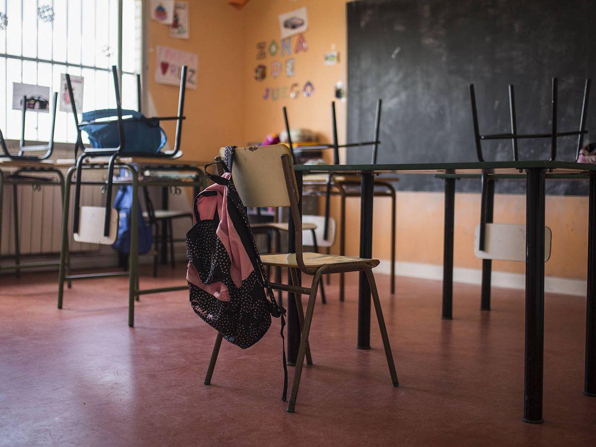 Foto: Imagen de una clase. (Alejandro Martínez Vélez)