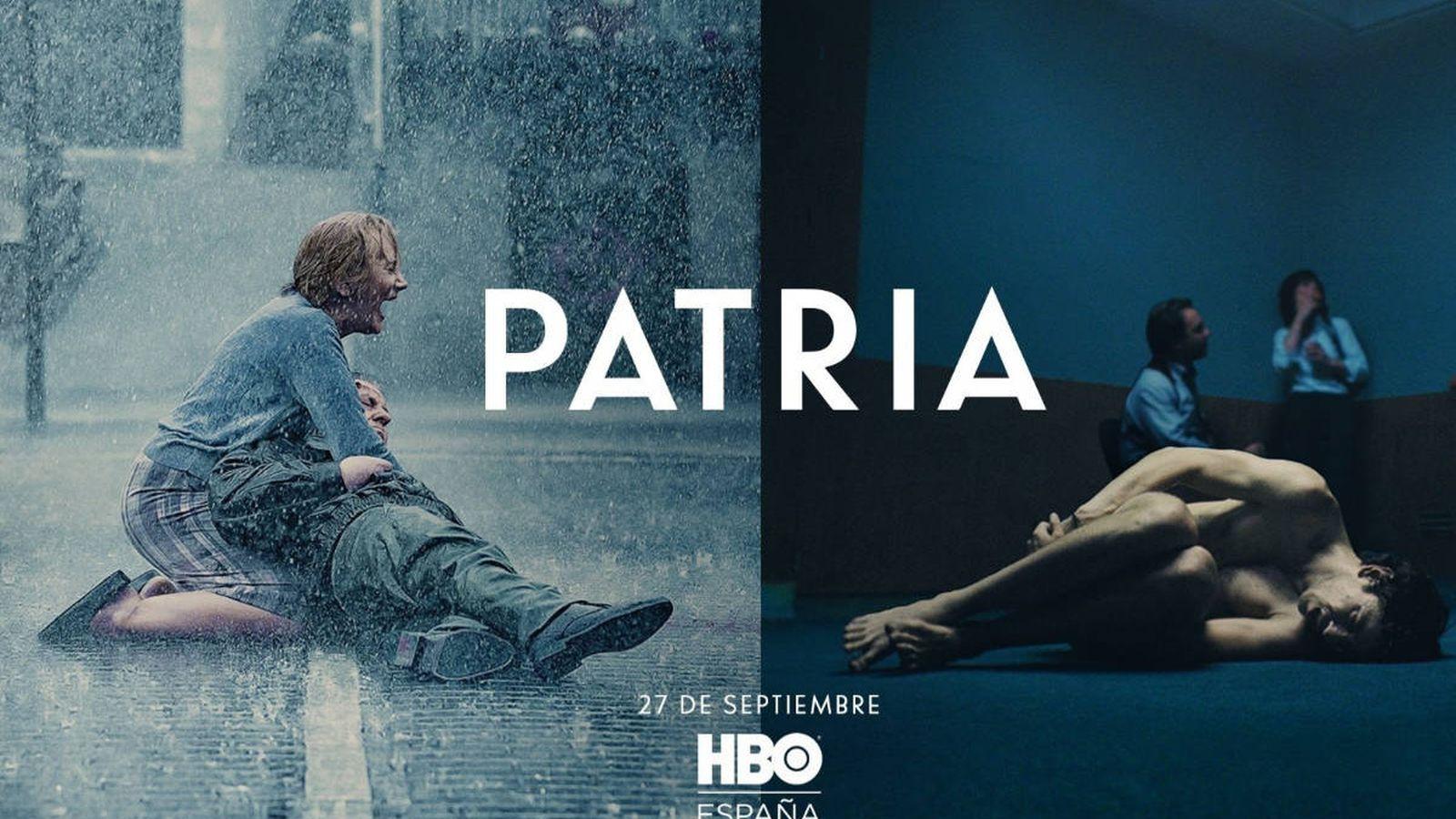 Foto: Cartel de 'Patria'. (HBO)