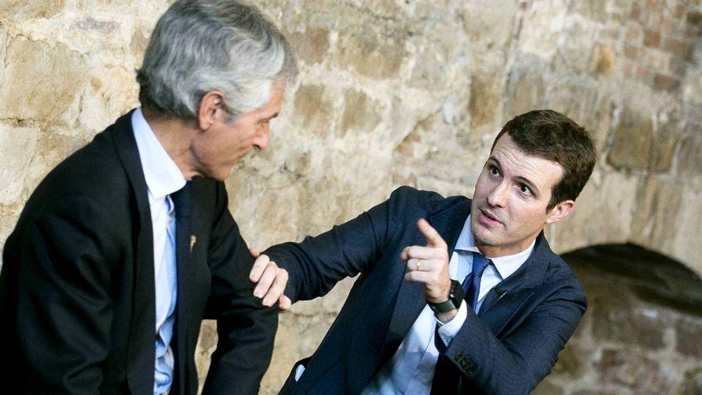 Foto: Pablo Casado y Adolfo Suárez Illana, en una imagen de archivo. (PP)