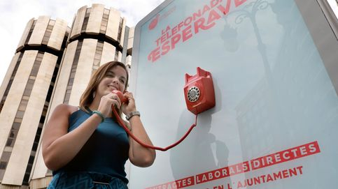 Una cabina de teléfono sonará cada 10 minutos en  Valencia para ofrecer trabajo