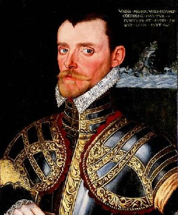 Foto: Retrato de Richard Hawkins (1562-1622).