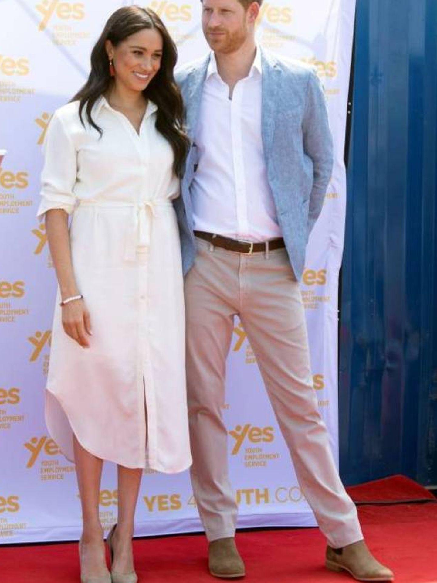 Harry y Meghan. (EFE)