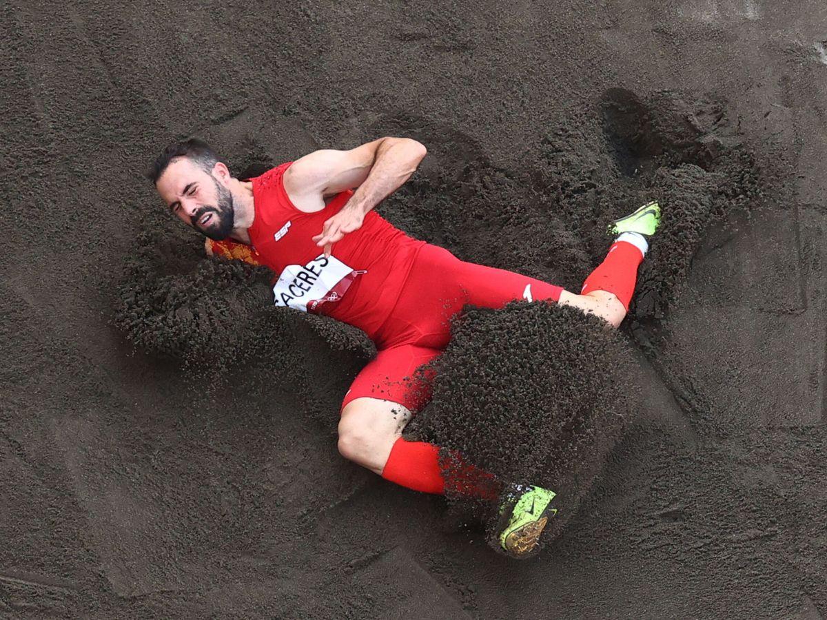 Foto: Eusebio Cáceres estuvo muy cerca de la octava medalla española. (Reuters)
