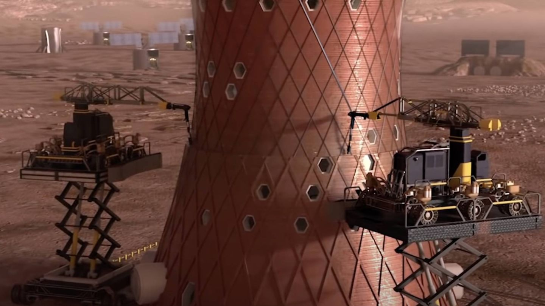 Nace la arquitectura marciana.