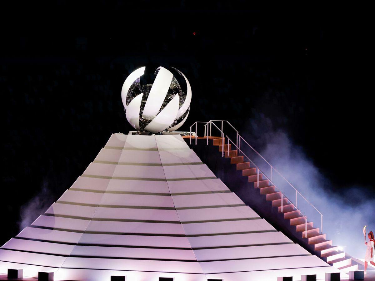 Foto: Ceremonia inaugural de los Juegos Olímpicos de Tokio. (EFE)