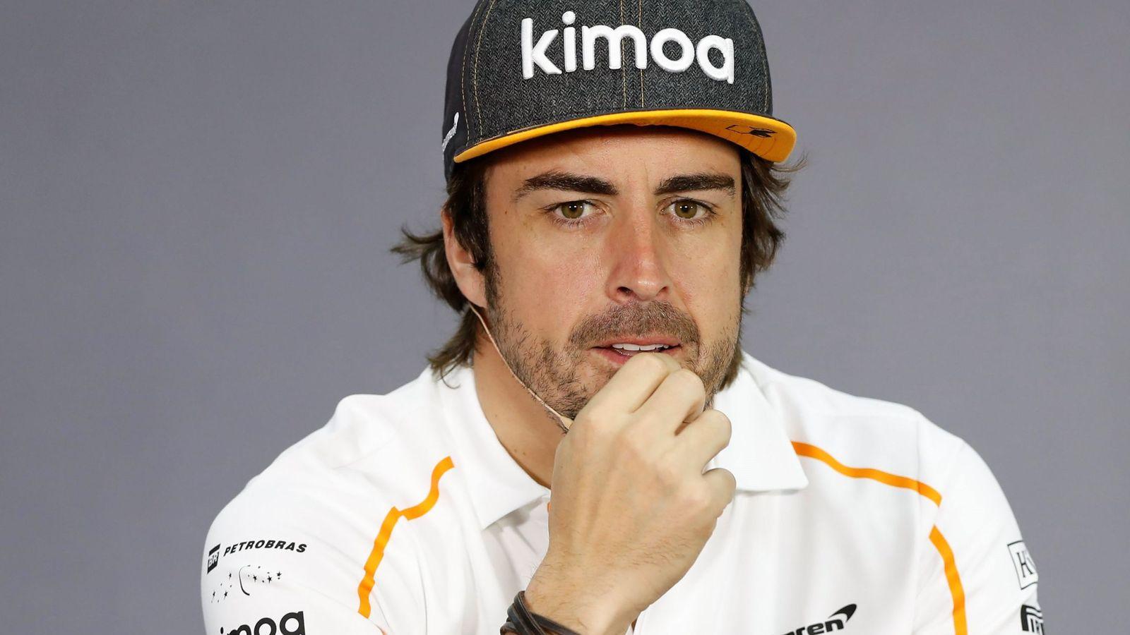 Foto: Fernando Alonso el pasado fin de semana en Bahrein. (EFE)