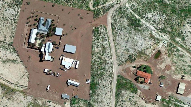 El rancho de Jeff Bezos en Texas. (Google)