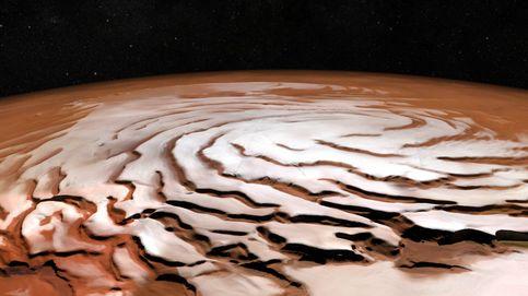 Científicos dicen ahora que el polo sur de Marte podría no tener agua