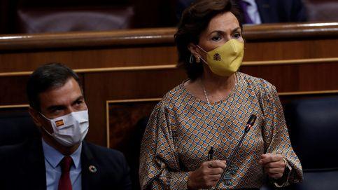 Calvo replica a Aguado que el Gobierno está implicado en la lucha del covid en Madrid