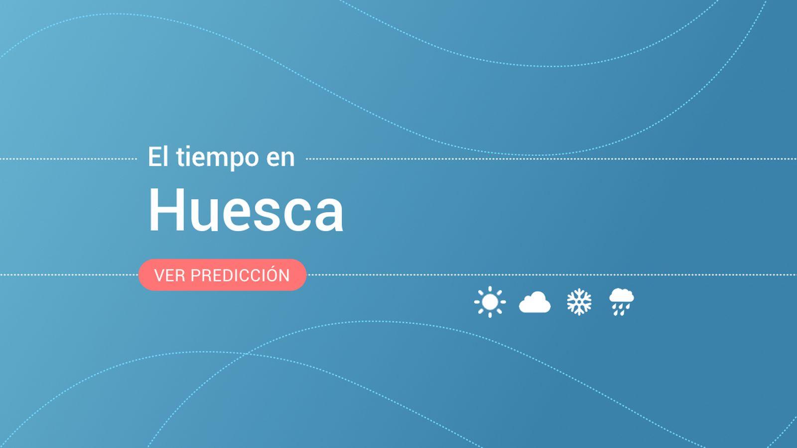 Foto: El tiempo en Huesca. (EC)