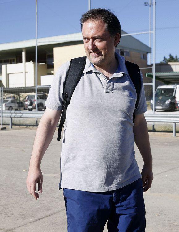 Gorka Villar, hijo del inhabilitado presidente de la Real Federación Española de Fútbol. (EFE)