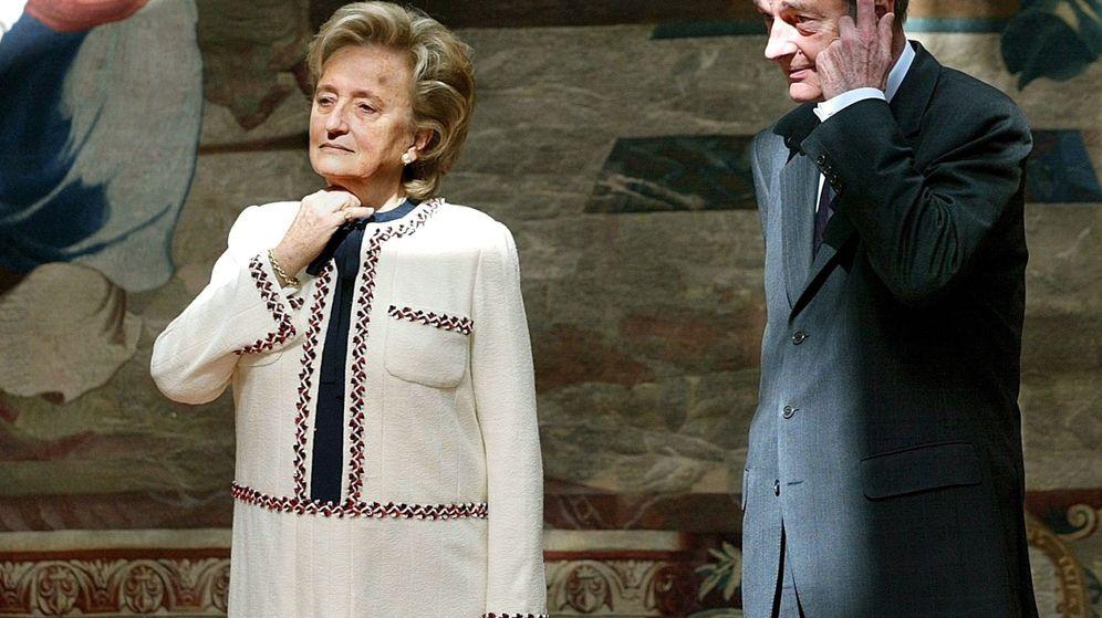 Foto: Bernadette y Jacques Chirac, en una imagen de archivo. (EFE)