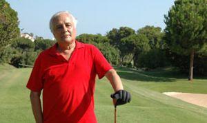 Foto: Raúl del Pozo, el golfista vecino del rey Fahd