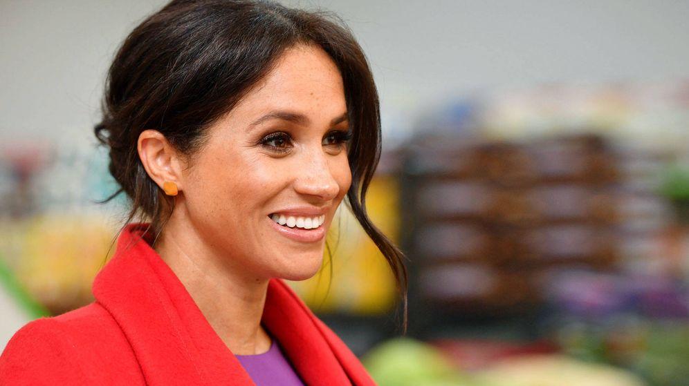 Foto: La duquesa de Sussex. (Getty)