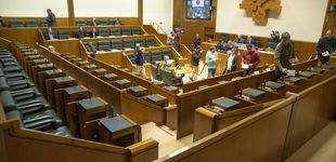 Post de El efecto del 8-M llega al Parlamento Vasco: por primera vez una huelga paraliza un pleno