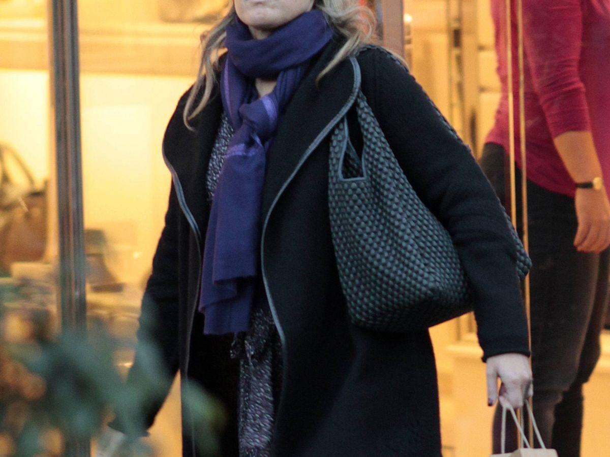 Foto: Cristina Valls Taberner, de compras navideñas. (Cordon Press)