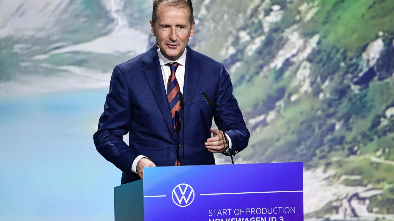 CEO de Volkswagen Herbert Diess (Reuters)