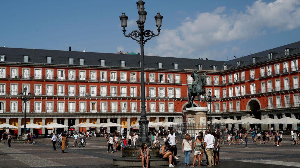 Foto: Foto de la Plaza Mayor. (Reuters)