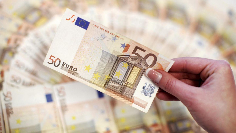 Billetes de 50 euros. (Reuters)