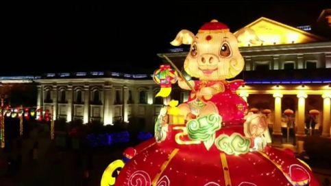 Todo preparado para recibir al Año Nuevo Chino, el año del cerdo