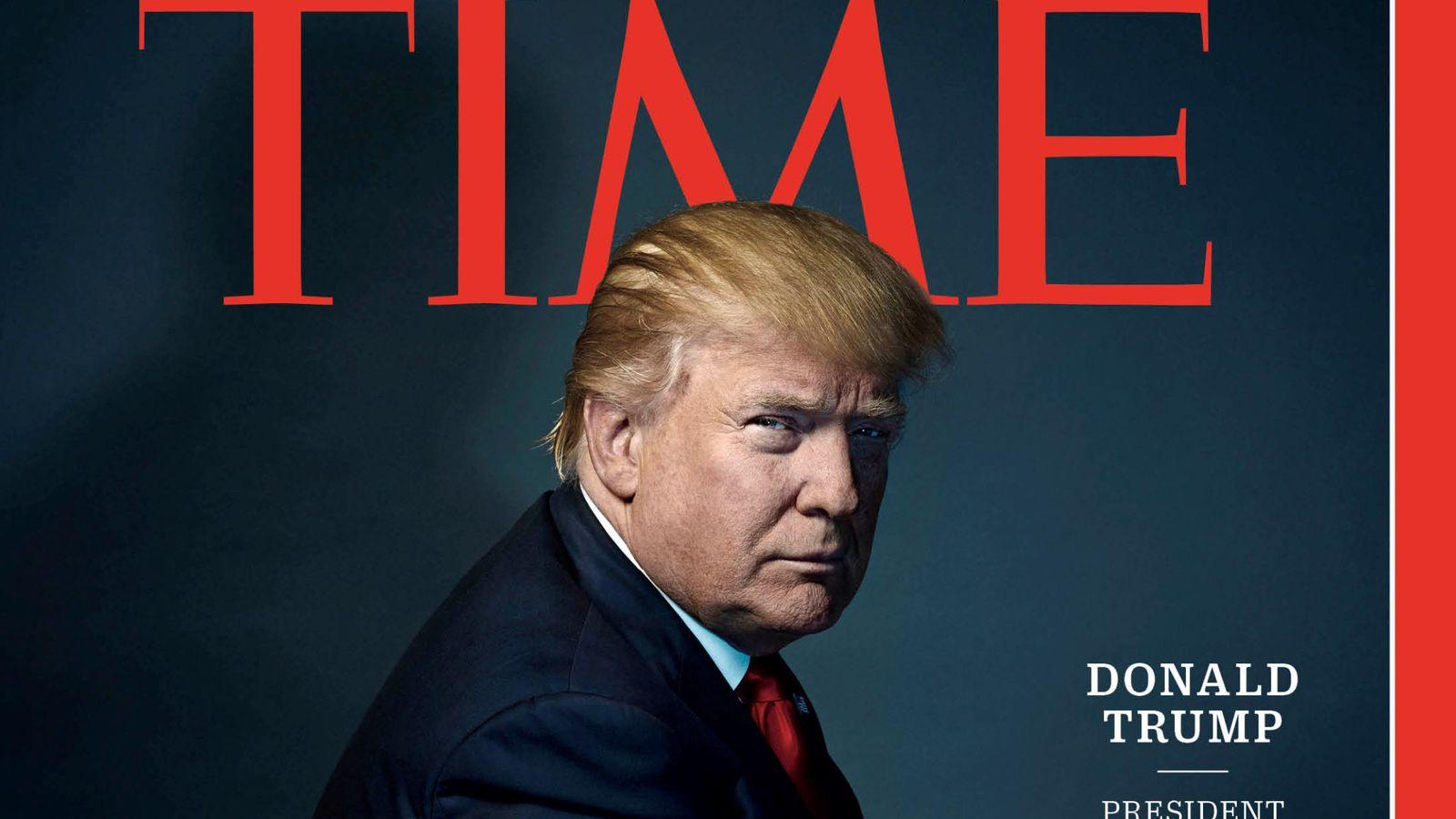Foto: Donald Trump, elegido persona del año por la revista 'Time'. (Reuters)