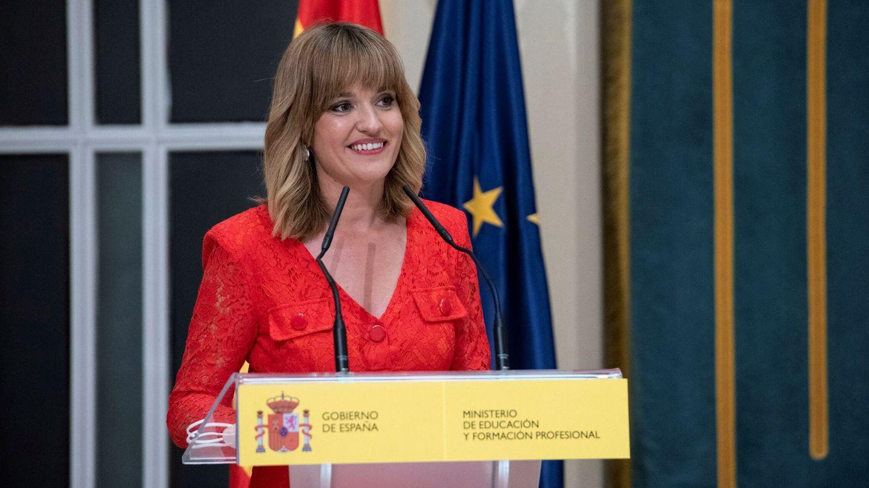 Pilar Alegría, ministra de Educación y Formación Profesional. (EFE)