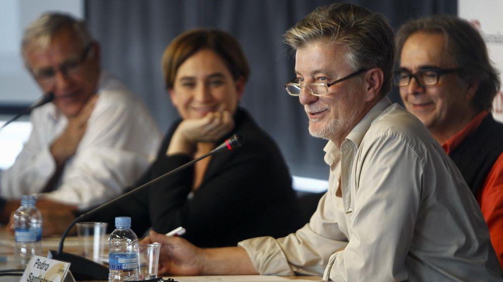 Foto: La alcaldesa de Barcelona, Ada Colau (2i), de Valencia, Joan Ribó (i), y de Zaragoza, Pedro Santisteve (2d). (EFE)