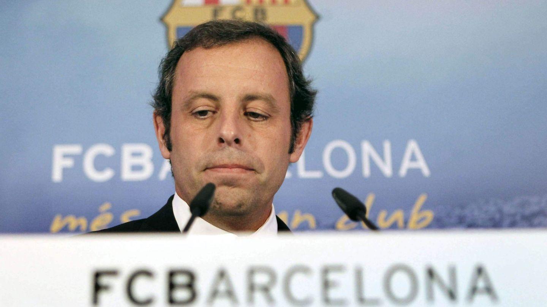 El expresidente del FC Barcelona Rosell. (EFE)