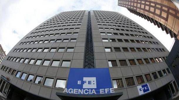 Foto: Exterior de la sede de la Agencia EFE.