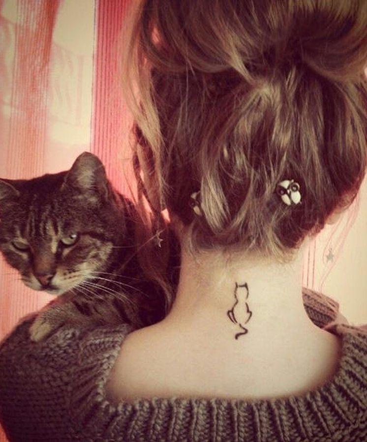 20 Ideas Para Tatuarte A Tu Gato
