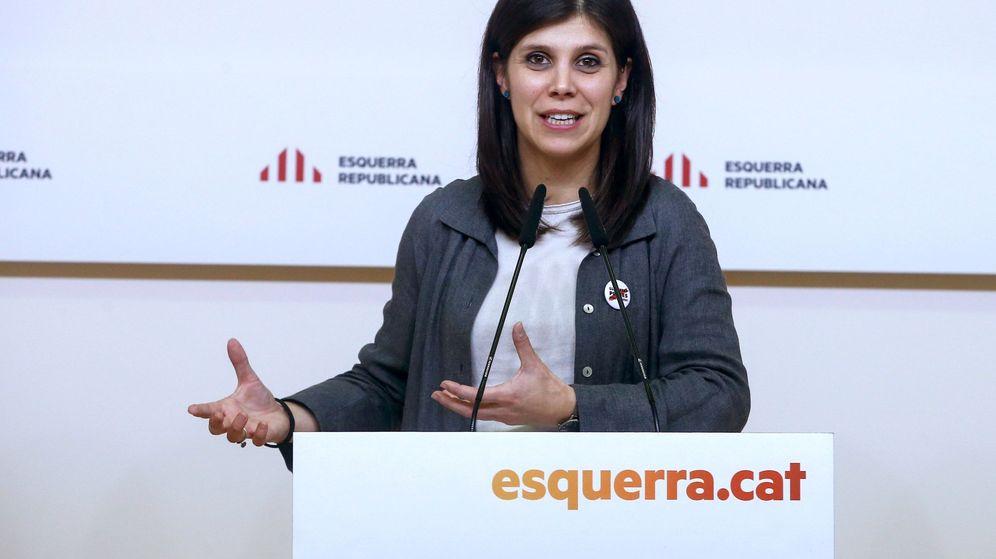 Foto: La portavoz de ERC Marta Vilalta. (EFE)