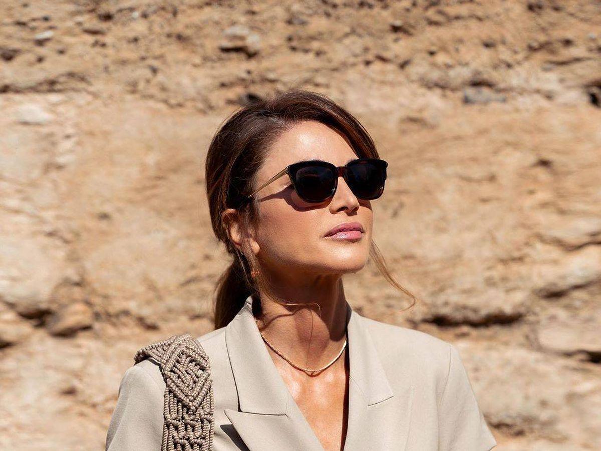 Foto: La reina Rania de Jordania. (Instagram)