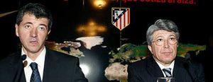Miguel Ángel Gil Marín no se atreve a prescindir de Cerezo como presidente del Atlético