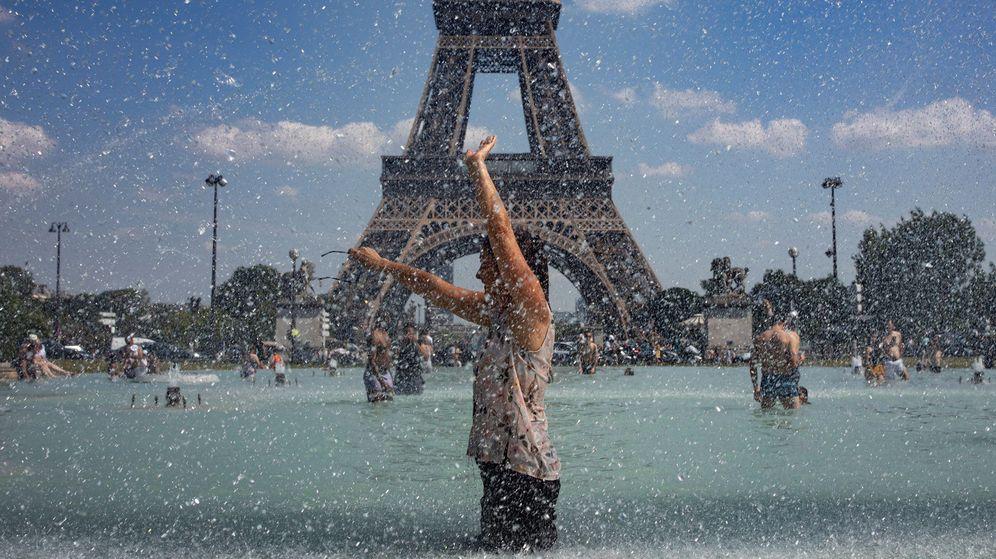 Foto: La torre Eiffel de París. (EFE)